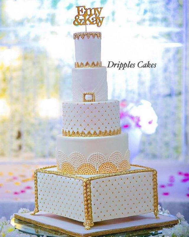Dripples Wedding Cakes