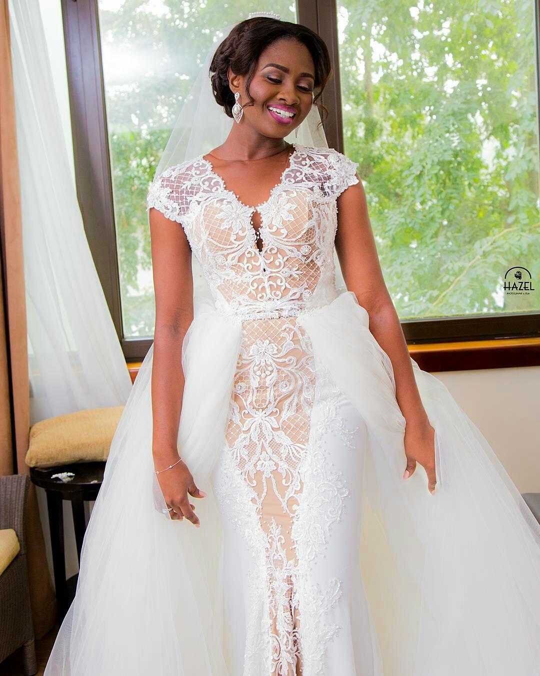 Designer Wedding Gown Rental: Style 1 - Pistis Wedding Dress