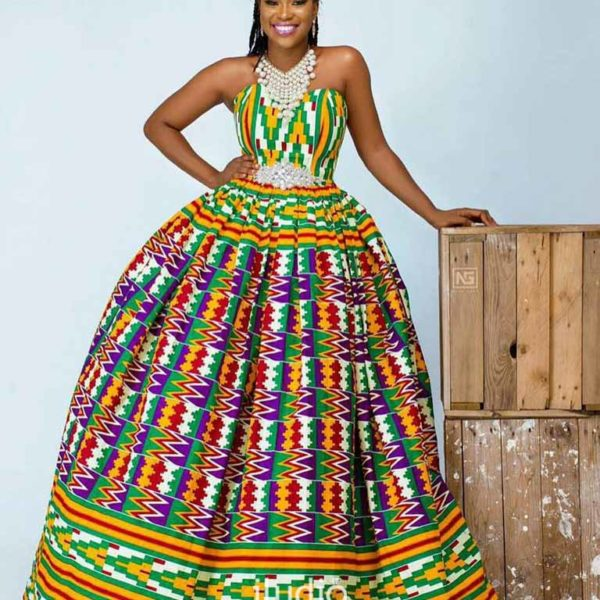 Ghana Kente Trad Outfits Iludio