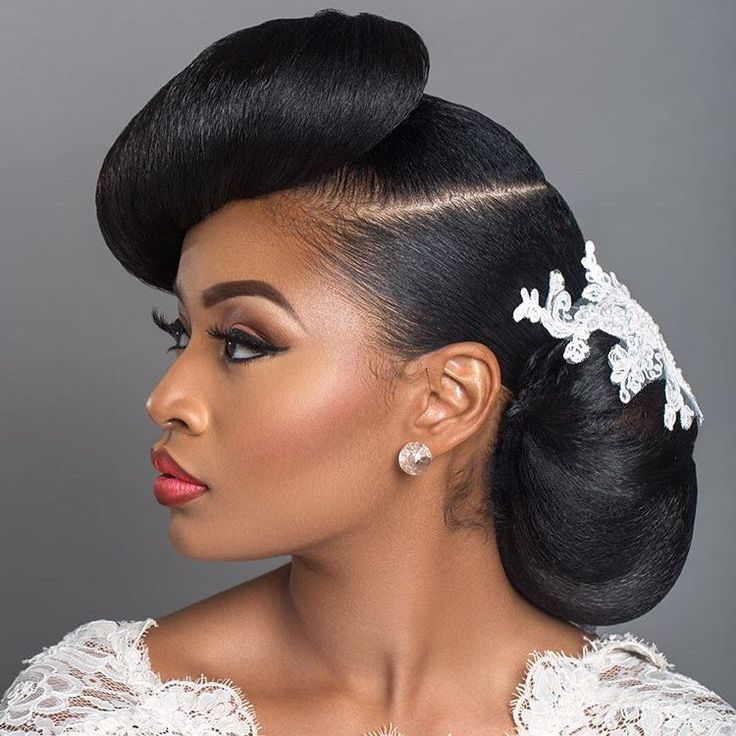 Black Women Wedding Hair Style: 6 Ideal Hairstyles That Will Make You Glow On Your Big Day
